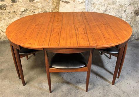 teak dining room set hans teak roundette dining room set for frem rojle