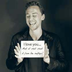 Tom hiddleston we loki a lot