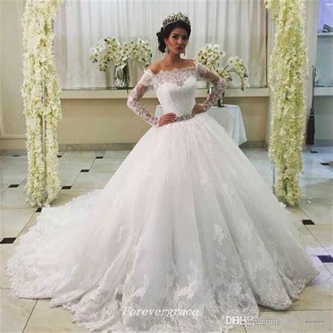 Wedding Dress Gaun Pengantin Brukat Korea High Neck vintage princess lace wedding dress high