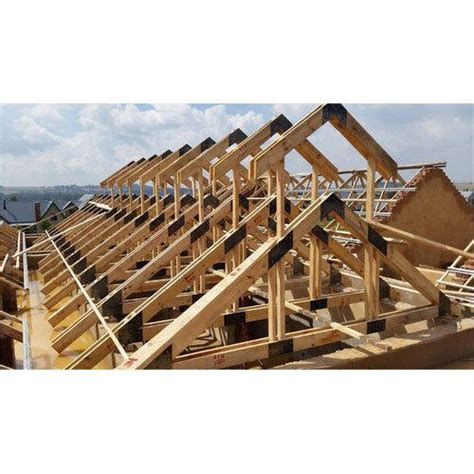 roof structure wooden roof structure mathew metal fab manufacturer in