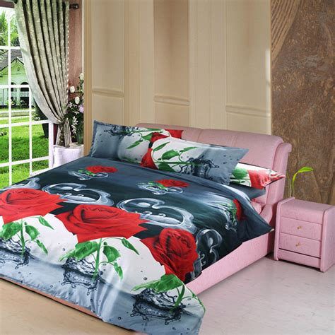 Marilyn Bedding Set by 4pcs 3d Design Marilyn Bedding Cotton Quilt Duvet