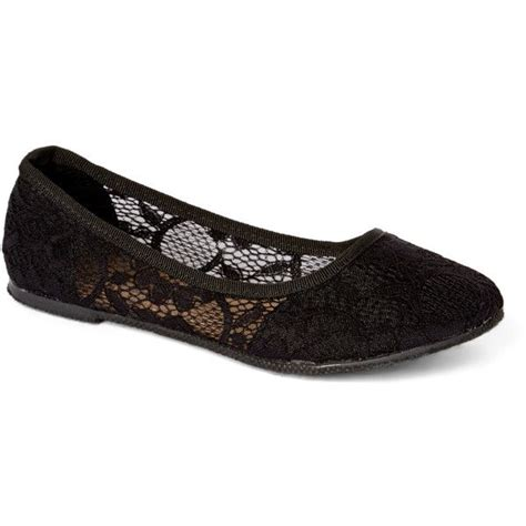 fancy flat shoes for fancy black lace flat 4 79 liked on polyvore