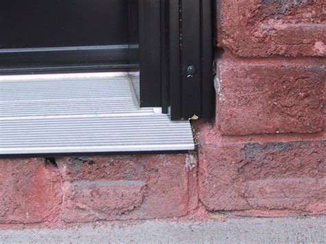 How To Install Exterior Door Threshold Homeofficedecoration Exterior Door Threshold Installation