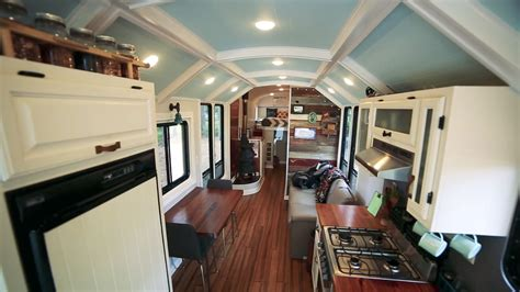 school bus conversion     impressive