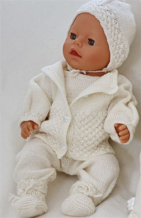 baby doll clothes knitting patterns free knitting doll clothes on knitting patterns