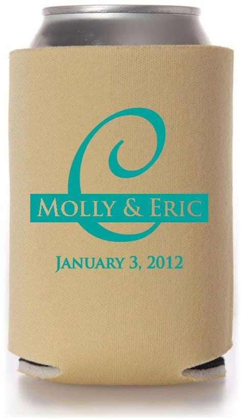 1000 Images About Koozies On Pinterest Personalized Wedding Wedding And Favors Can Cooler Template