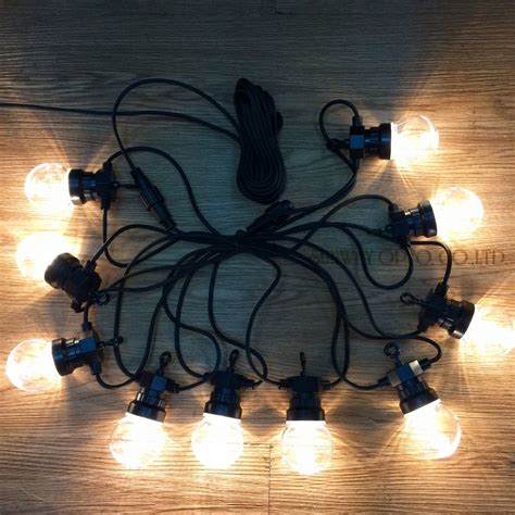 75 off christmas lights super bright 15 connectable vintage festoon ball string