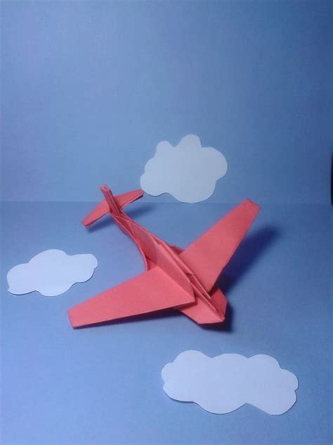 Airplane Origami - origami plane jimbo folded by majomajo tutorial here http