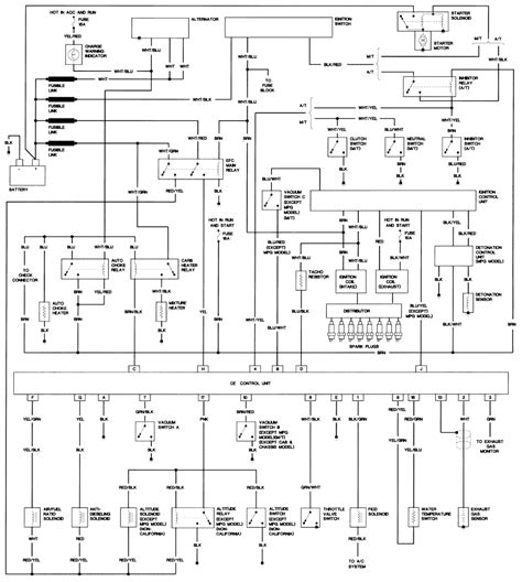 nissan d21 wiring diagram free wiring diagram with