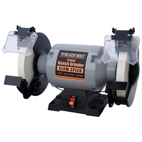 slow speed bench grinders 027077077827 upc bench grinder black bull grinders 115