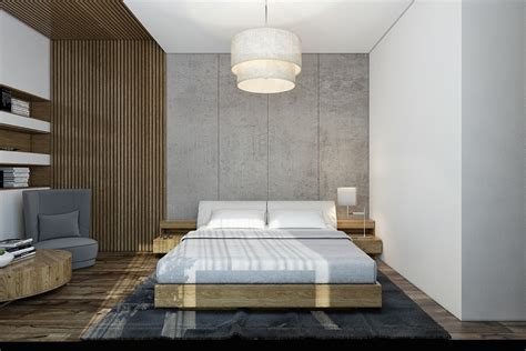 wall l for bedroom concrete wall designs 30 striking bedrooms that use