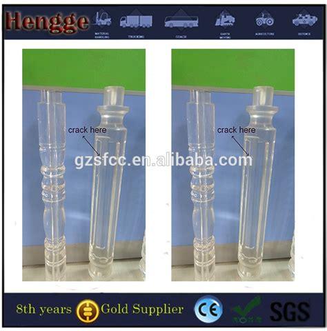 corrimano plexiglass acrilico trasparente in plexiglass corrimano balaustra