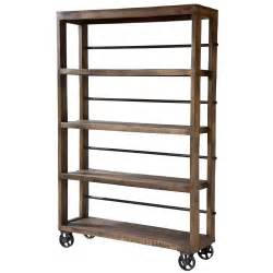 stein world hayden rolling wood shelving unit pantry