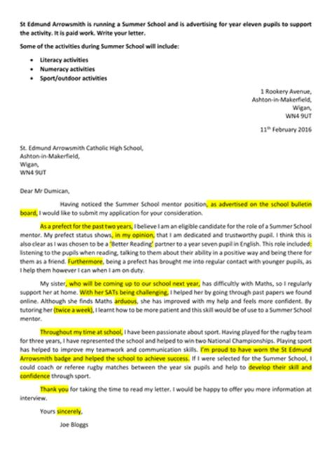 layout of informal letter writing gcse letter writing formal informal by jamestickle86