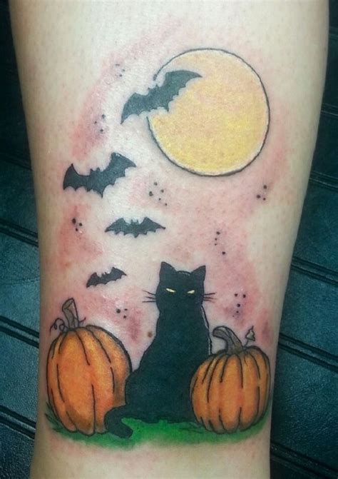 halloween pumpkin tattoo designs 55 designs nenuno creative