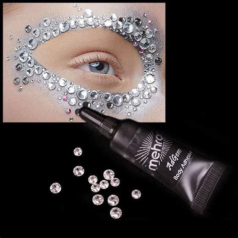 Mehron Adgem Adhesive mehron adgem with rhinestones glitter glam techland