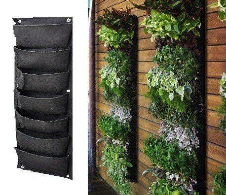 Hanging Wall Planters Outdoor by Best 25 Vertical Gardens Ideas On