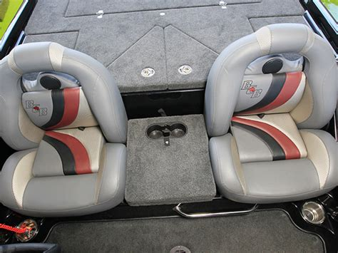 bass boat middle seat bucket seats