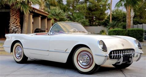 first corvette ever made the 1st ever chevrolet corvette built 63 years ago today