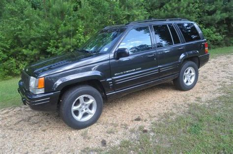 1998 Jeep Grand 5 9 Limited For Sale Sell Used 1998 Jeep Grand 5 9 Limited Sport