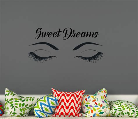 vinyl decals for home decor wall decals quotes sweet dreams quote decal wall vinyl
