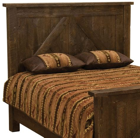 cal king headboard and frame frontier barn brown timber frame headboard cal king