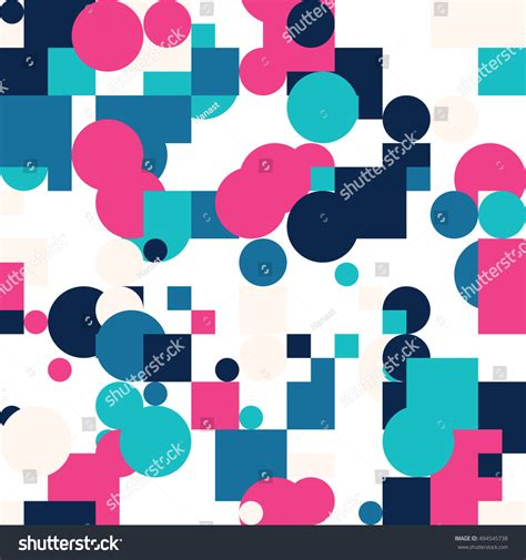repetitive pattern en francais seamless geometric bright colors pattern repetitive stock