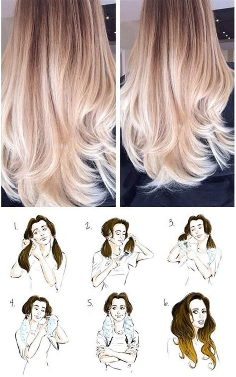 diy ombre hair for dark brunettes step by step gallery diy ombre hair black hairstle picture