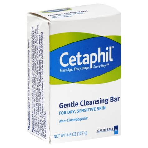 Detox Cleanse Fort Worth by Cetaphil Gentle Cleansing Bar For Sensitive Skin