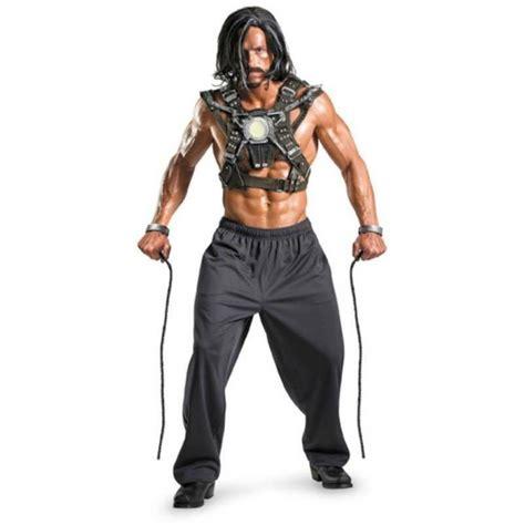 adult iron man whiplash costume wig