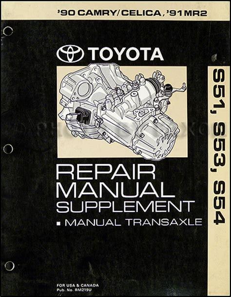 manual repair autos 1993 toyota celica engine control 1990 toyota camry celica 1991 mr2 manual transmission repair shop manual original