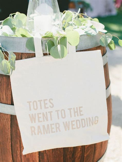 61 best Welcome Bag Ideas images on Pinterest   Wedding