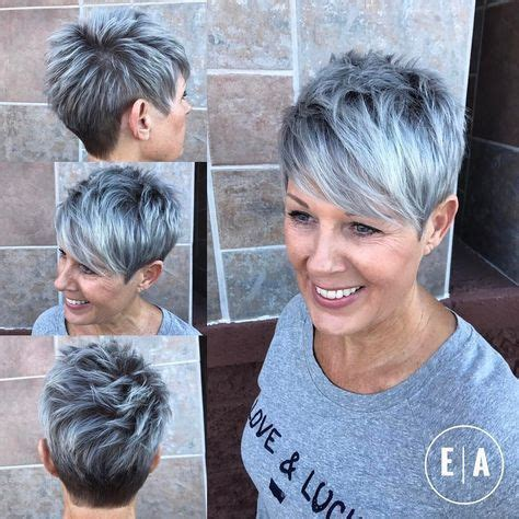 best 25+ short silver hair ideas on pinterest | silver