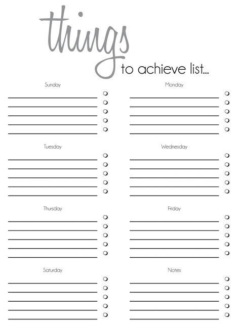 to do list template 12 free sample example format download