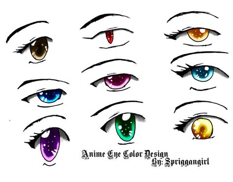 Unique Anime Eyes Unique Anime Eyes Coloring Pages Illustration Resume