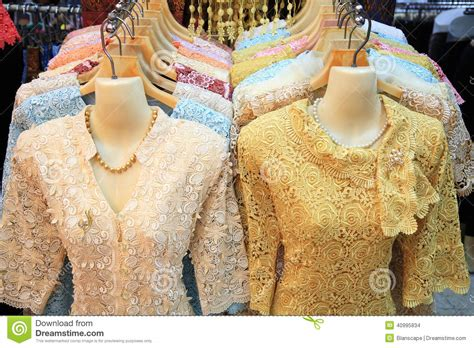 clothes for sale luxury traditional thai clothes for sale stock photo image 40995834