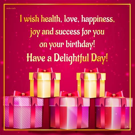 Birthday Wishes For Health And Happiness Wishes And Greetings I Wish Health Love Happiness Joy