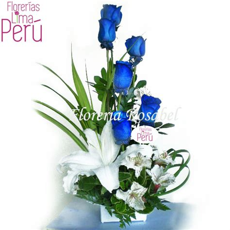 imagenes de flores unicas arreglo de rosas azules related keywords arreglo de