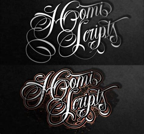 20 best tattoo lettering fonts for download free
