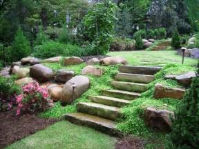 hillside landscaping ideas for a sloped backyard - Landscaping A Sloped Backyard
