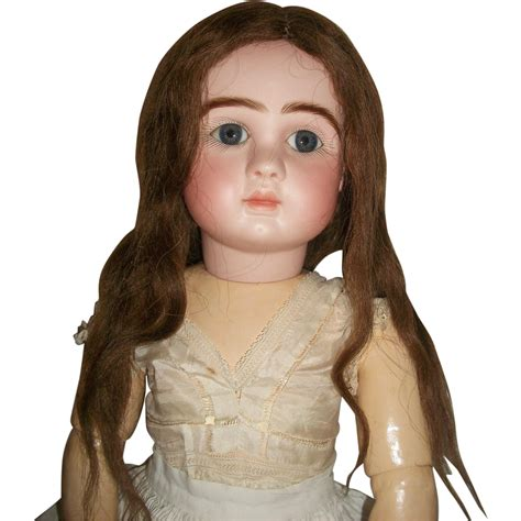 Human Hair Doll For by Antique Human Hair Doll Wig From Joysofyesterday On