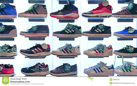 sports shoes stores adidas sports shoes store editorial photography image of