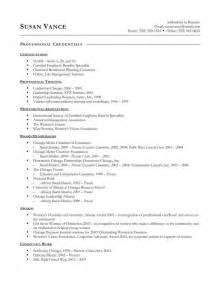 resume exles templates free sle effective resume