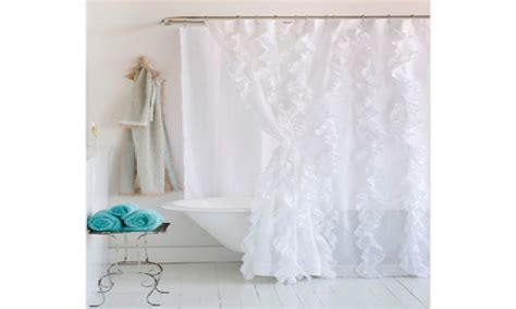 white cotton shower curtain white shower curtains