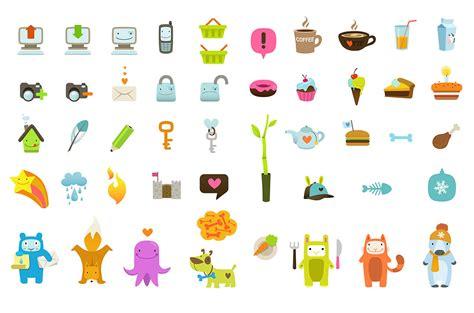 design icon cute ultra cute icon set design mirkku
