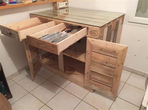 Kitchen Cabinet Doors And Drawers by 15 Inspira 231 245 Es De Paletes Para A Sua Cozinha