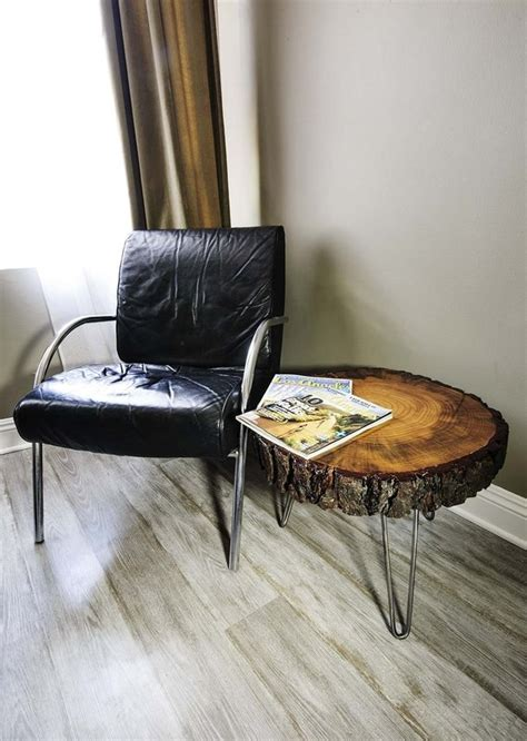 Sliced Log Coffee Table Tree Slice With Bark Coffee Table Or Side Table