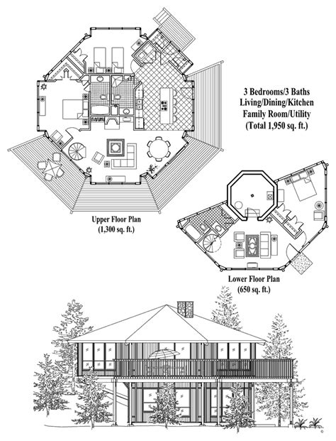 pedestal house plans online house plan 3 bedrooms 3 baths 1950 sq ft enclosed pedestal collection pl