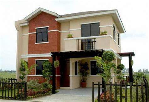 desain cat eksterior rumah 50 model desain rumah minimalis 2 lantai desainrumahnya