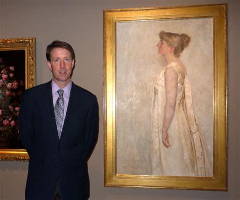 mary curtis richardson crocker art museum s chief curator scott shields beside